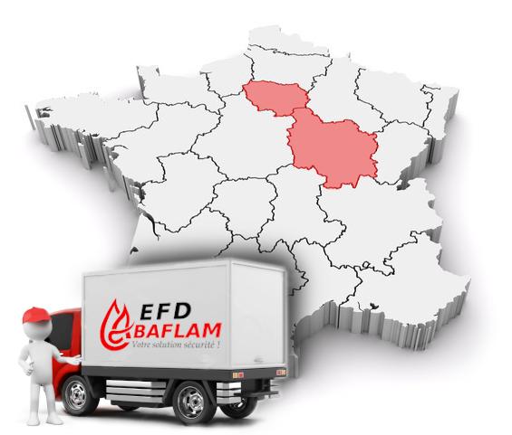 Intervention dans la bourgogne et Ile de France