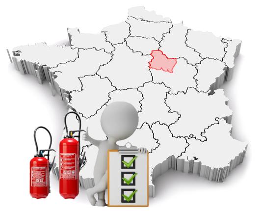 Carte d'intervention dans l'Yonne : Auxerre, Sens, Avallon